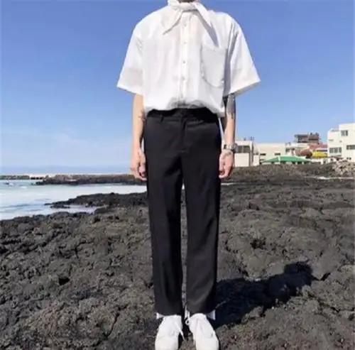 2020新款男士大码松紧,夏款纯棉唐装休闲裤
