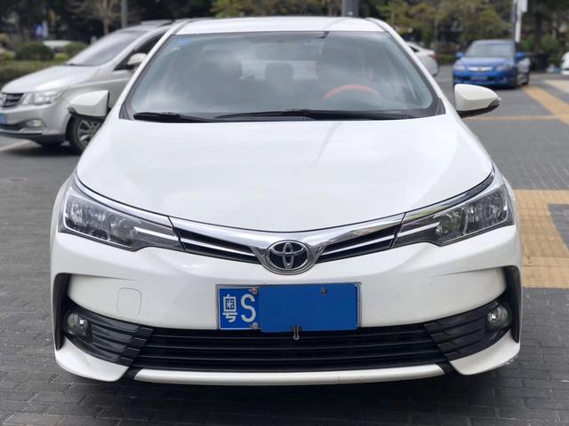 卡罗拉2017款1.2t二手车