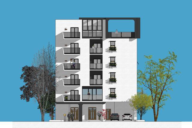 6层住宅楼