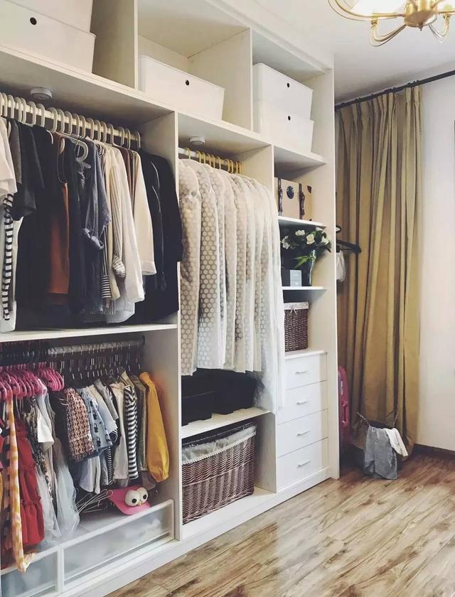 22个卧室衣柜内部格局设计参考,太全了