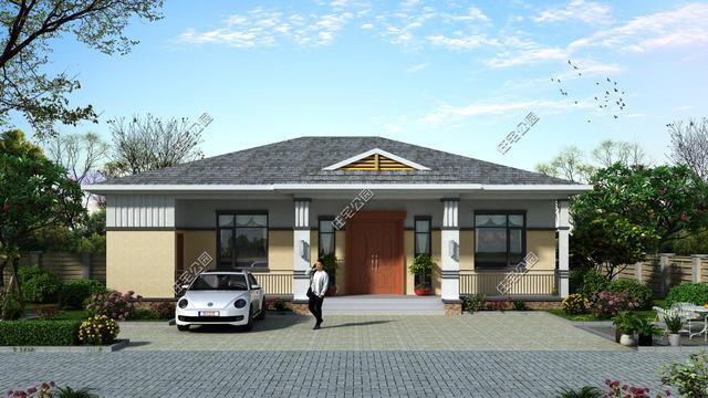 6套全新设计的户型图纸,农村盖别墅,传统中式才接地气