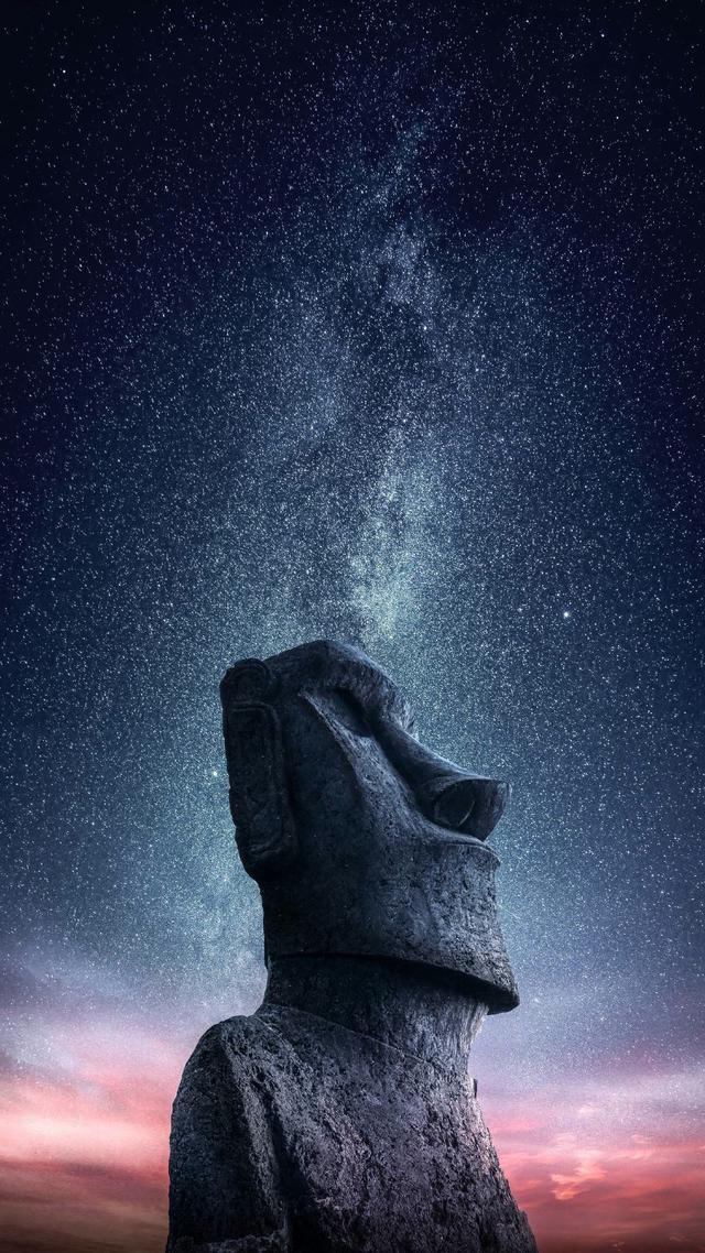 星空高清壁纸分享,带你领略星空的美 - 华为Mate S主题美化 ...