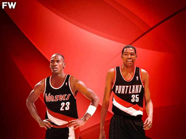 如果拓荒者當初選中了杜蘭特和喬丹,Perkins:那他們就會有6冠了!