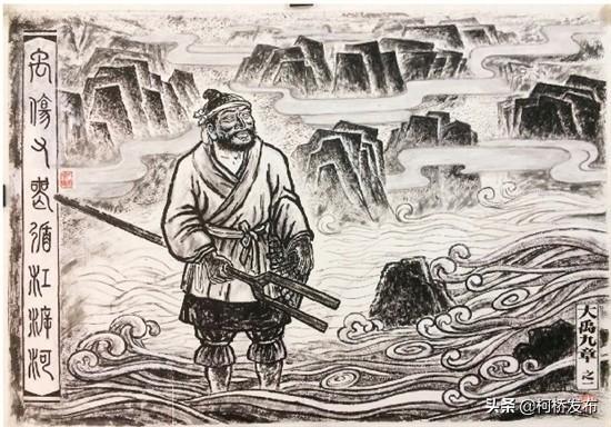 大禹手绘——安阳殷墟博物馆