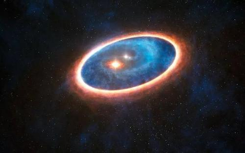 """欧洲天文台发现一只巨大""""蝴蝶"""",长约两光年,是两颗恒星的杰作-第5张图片-IT新视野"""
