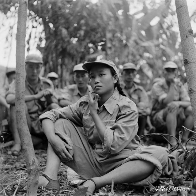 真实的国军女兵形象_手机搜狐网