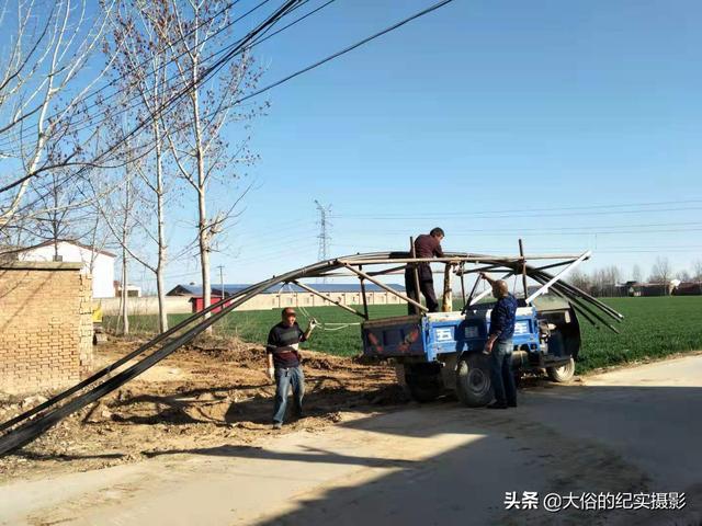 河南开封祥符区农村天然气管道入户工程开工