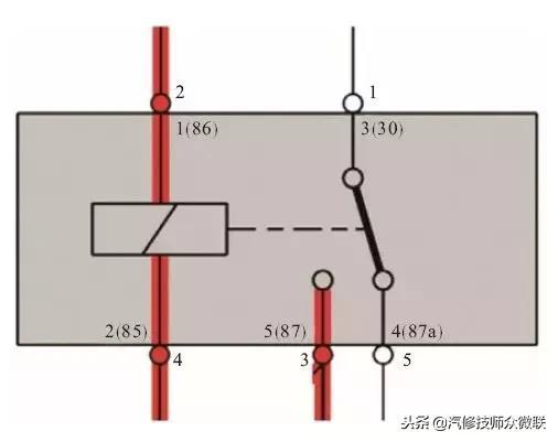 继电器的结构、原理、应用以及检查方法