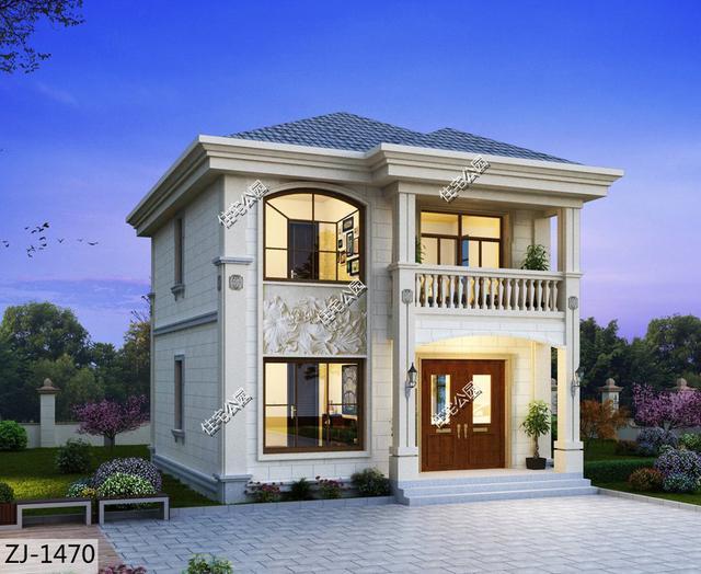 推荐:10套新农村自建房设计图,2020年最新设计_盖... _图纸之家