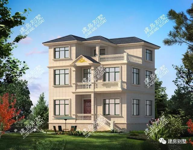 农村自建房地形宽10米×11米如何设计,内计是不是很漂亮