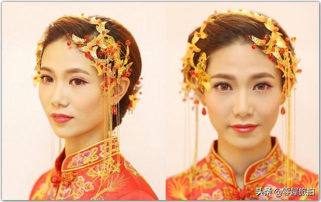 2018惊艳全场的中国风秀禾新娘造型,手把手教你... _手机搜狐网