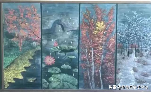 60岁老师画画42年,用5000多幅粉笔画,为山村学生打开整个世界