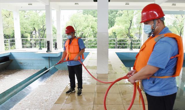 未雨绸缪确保汛期安全供水 荆州水务集团在行动