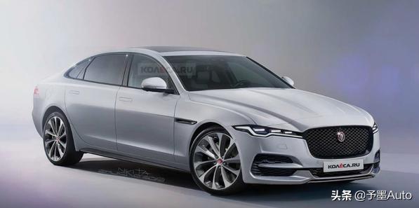 新款捷豹XJ车型渲染图曝光,演示真正优雅豪华英伦范