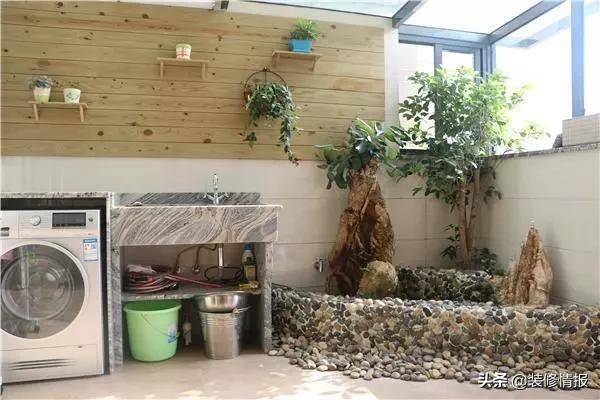 阳台鱼池设计