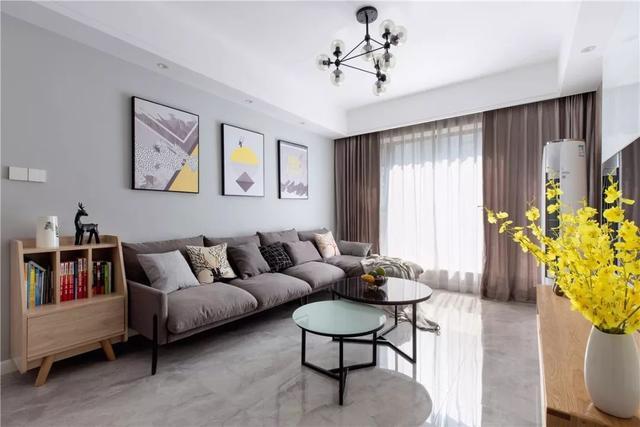 7款客厅瓷砖装修效果图告诉你瓷砖到底该怎样选 - 本... - 装一网