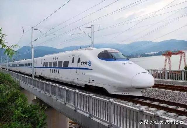 铁路总局发声,北沿江高铁扬州段线路似已确定!-扬州吉屋网