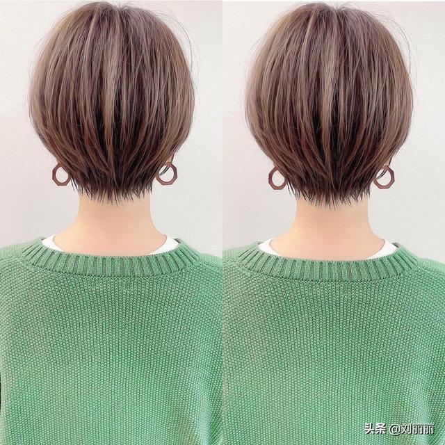 越来越多的女性短发这样剪,利落时尚又显瘦,忍不住也想剪同款