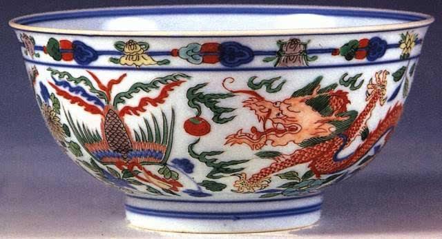 清代瓷碗图片大全