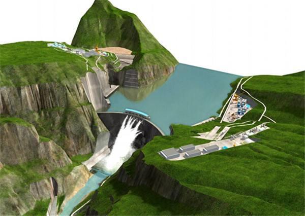 中国骄傲白鹤滩水电站----世界第二大水电站即将诞生!