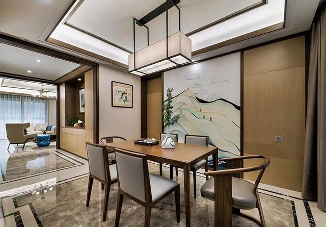 简约新中式客厅