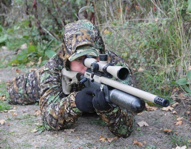 流行于欧美的不一定只有常规枪械 这款大威力气步枪也是狩猎利器