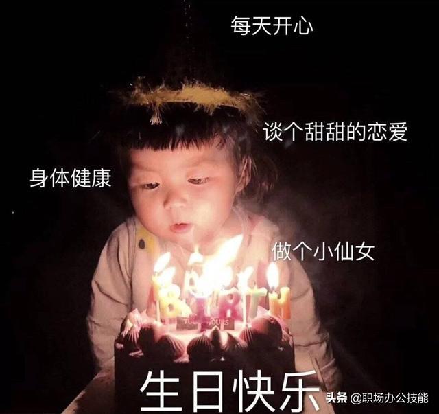 生日快乐图片微信