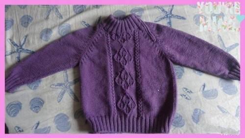 60款可爱儿童毛衣编织教程_新手零基础一步一步学打毛衣_编织汇