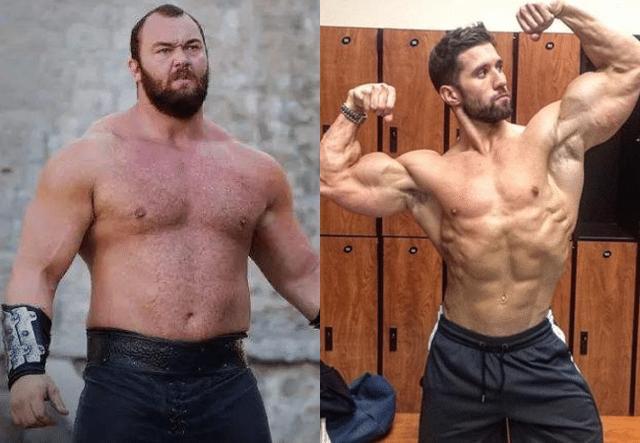 肌肉脂肪对比照片