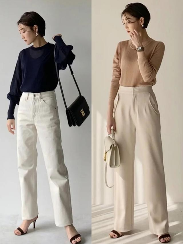 40岁女人穿衣简约才高级,看日本主妇们的私服,太值得借鉴了
