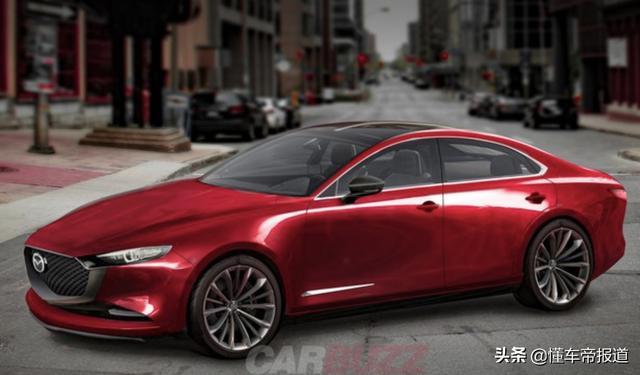 新车   全新马自达6效果图曝光,后驱+六缸,最大功率350马力?