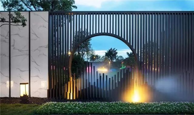 景墙设计平面图
