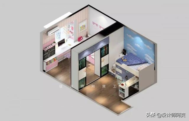 二胎卧室设计图