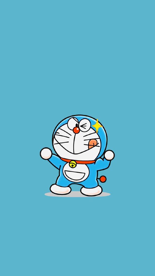 哆啦A梦可爱壁纸高清 叮当猫卡通手机壁纸-腾牛个性网