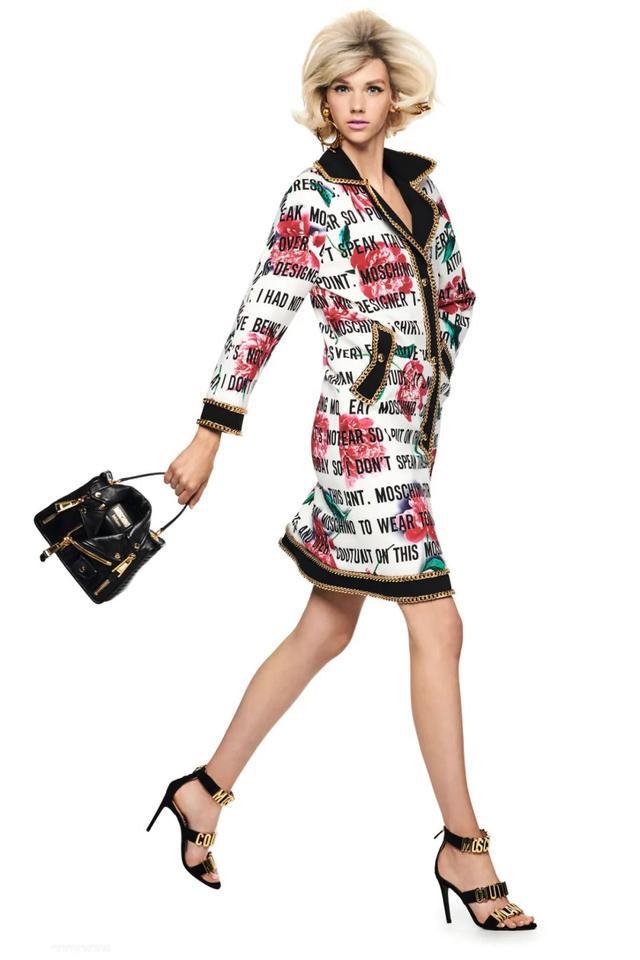 Moschino 2021早春女装型录