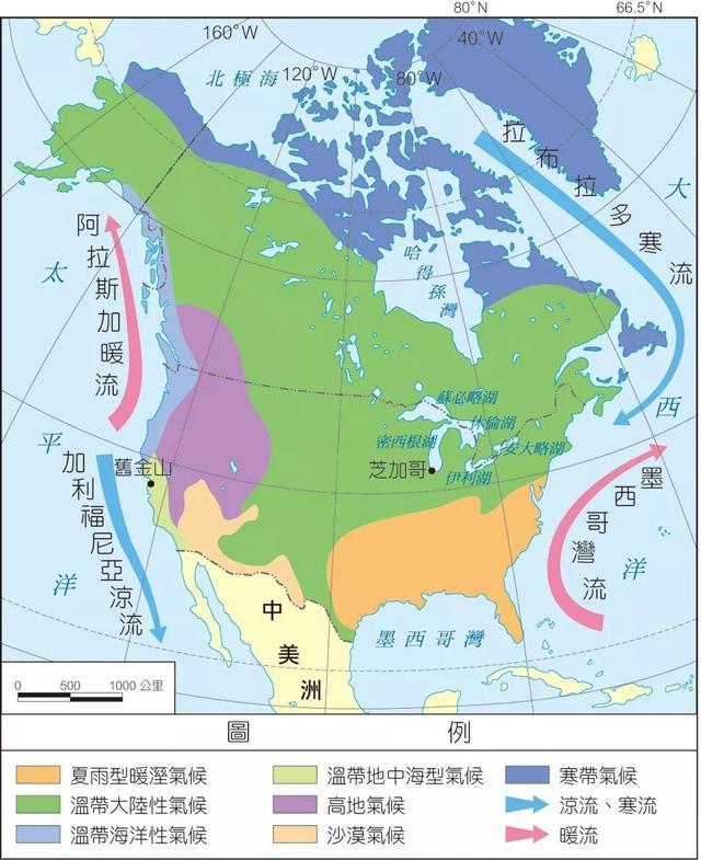 世界各国是怎样划分南北的,南北差异有中国大吗?