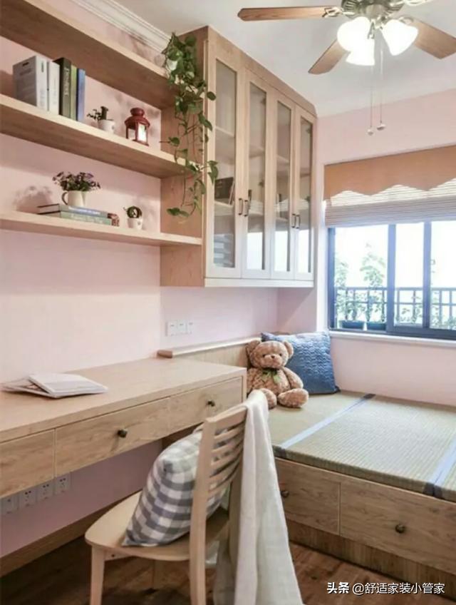 14平方次卧带书桌设计
