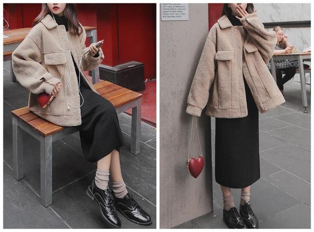 时尚的女生冬季服装搭配