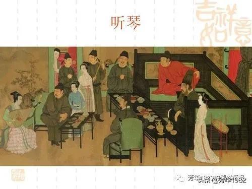 古代餐桌礼仪图片