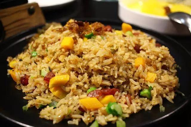 中国扬州炒饭图片