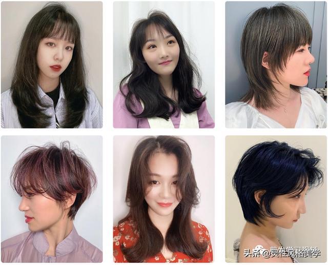 大圆脸适合的发型图片
