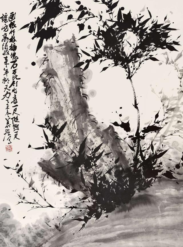 中国墨竹水墨画经典欣赏