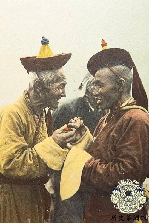 九华山西藏喇嘛图片