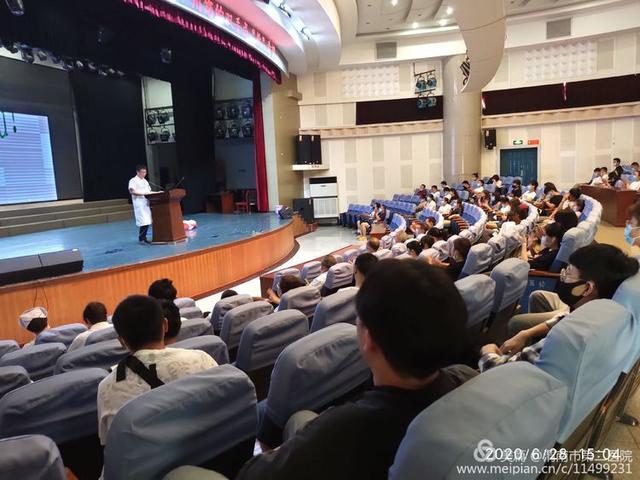 渭南市第二医院开展急救、疫情防控知识进校园活动