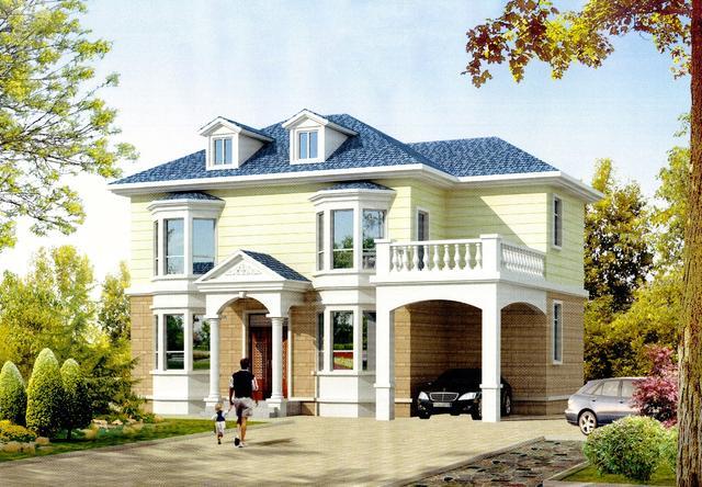 5米x15米宅基地设计图