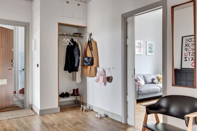 70平米小户型新房装修 营造简单舒适的北欧风家居