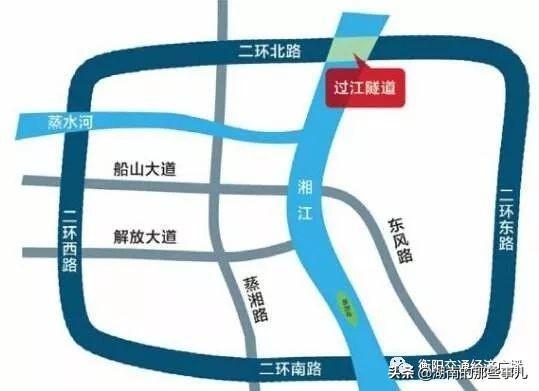 湘江衡阳城区段照片