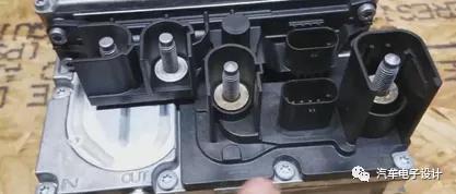 奔馳48V電池拆解