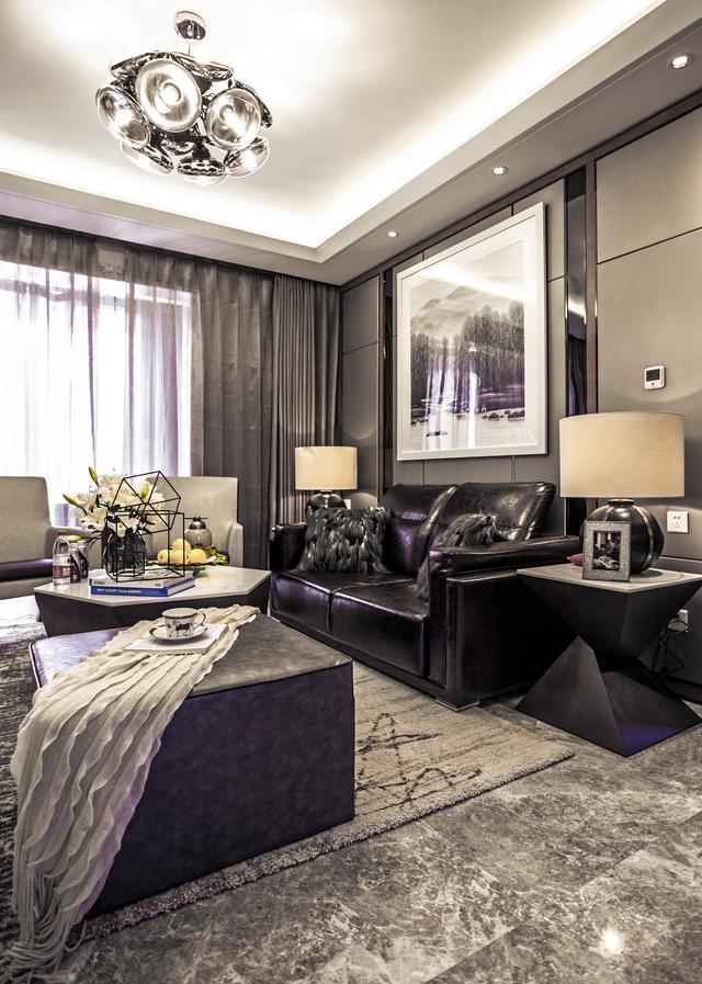 150平大平层的现代装修实景,品质生活的典范
