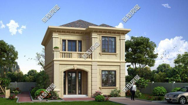 宅基地面宽7米也能建好房,8套小户型农村住宅图纸送给你